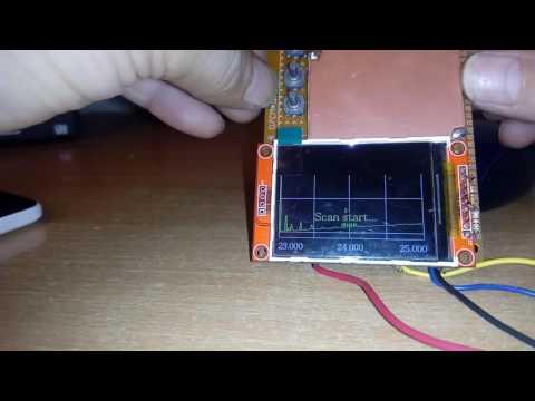 Arduino Antenna analyzer