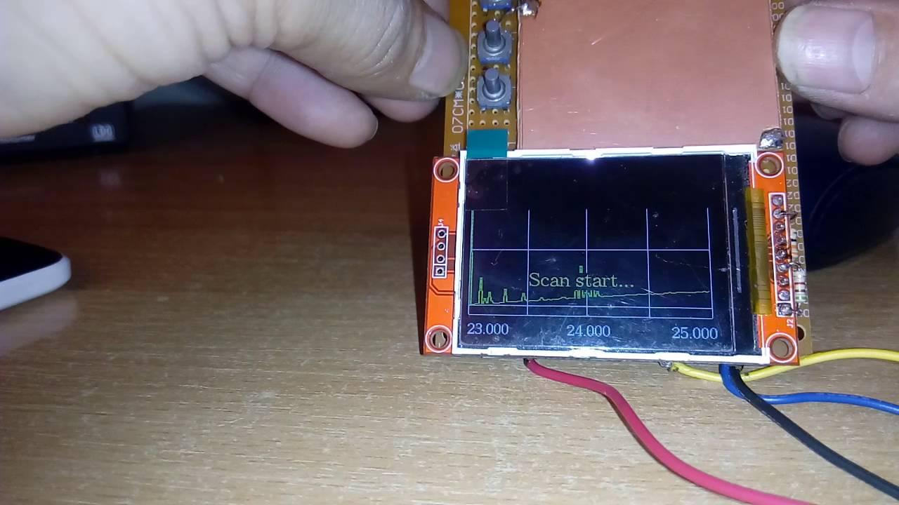 Arduino Antenna analyzer - Neagu Daniel