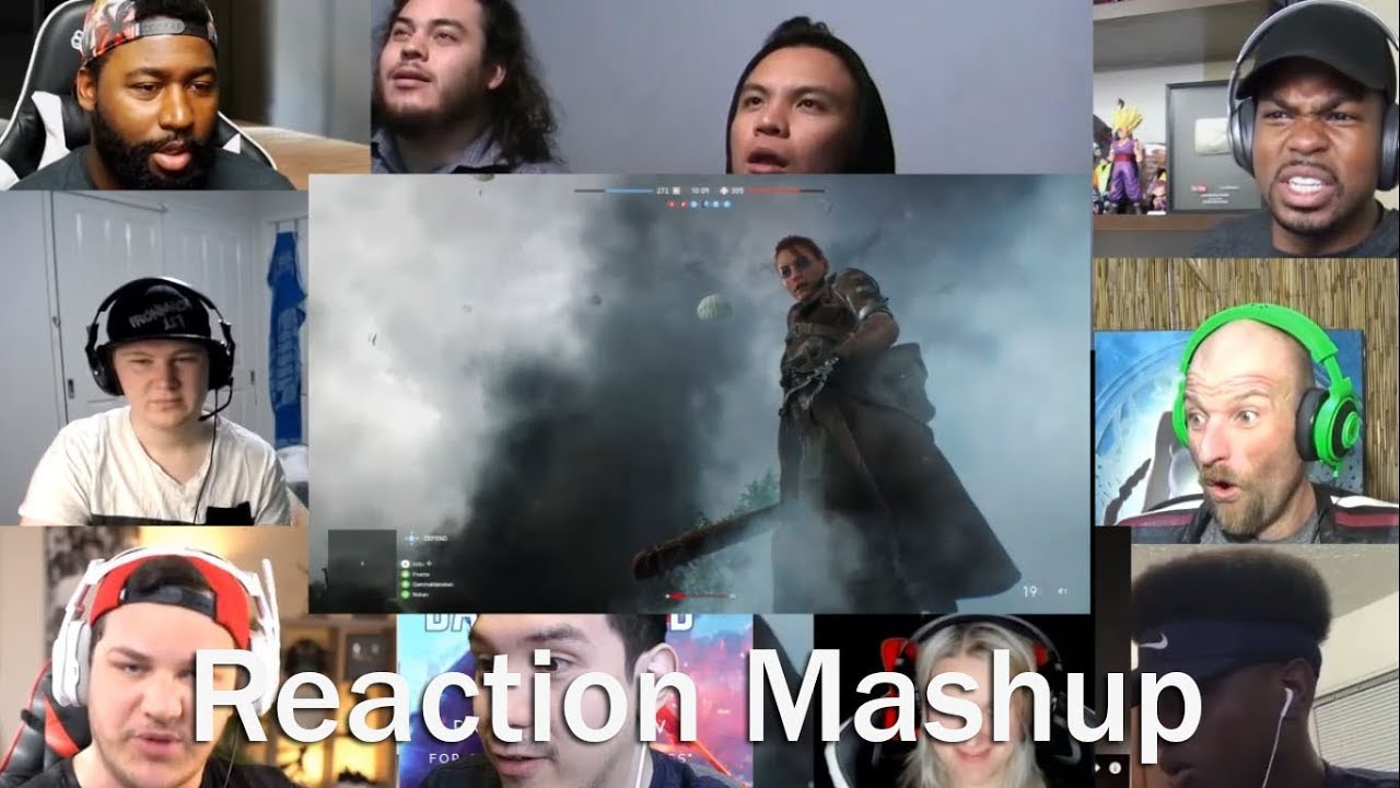 Battlefield 5 Official Reveal Trailer   REACTION MASHUP