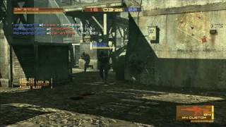Metal Gear Online PlayStation 3 Gameplay - Sure Shot