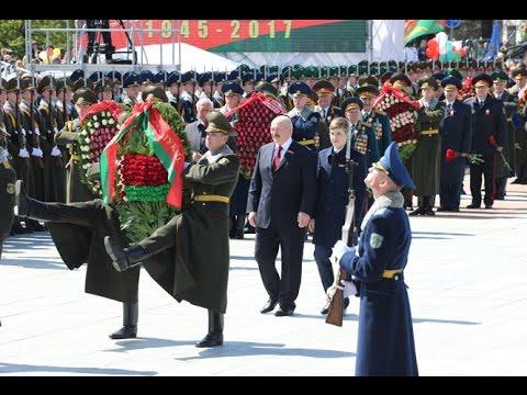 видео: В Минске прошла церемония возложения венков к монументу Победы
