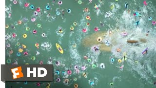 The Meg (2018) - The Beach Attack Scene (8/10) | Movieclips