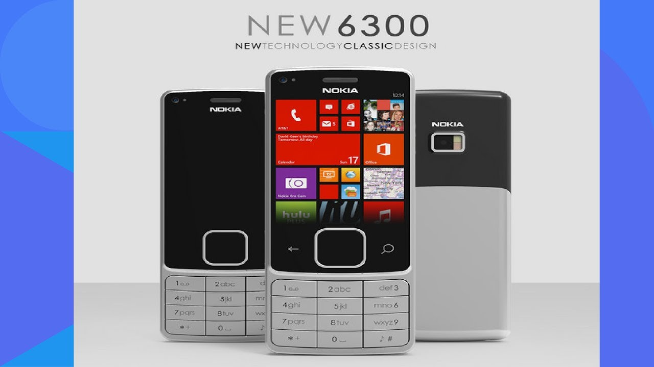 Amazing NOKIA 6300 Redesign Introduction 2017 With 12 MP