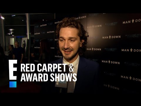 Shia LaBeouf Spills on Married Life With Mia Goth  E! Live from the Red Carpet