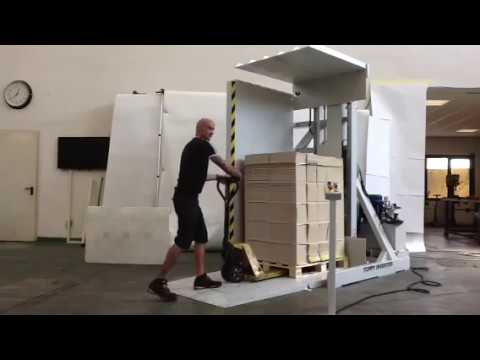 Inversor De Palets Toppy Floor Level En Modo