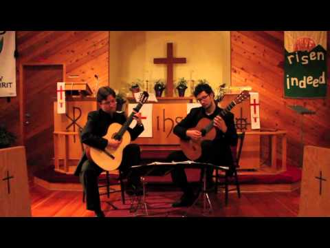 Quelus Guitar Duo play Valderrábano/Morales