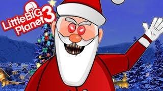EVIL SANTA   LittleBIGPlanet 3 Gameplay (Playstation 4)
