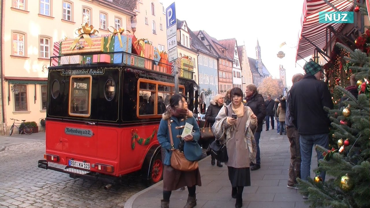 Christmas Market In Rothenburg Ob Der Tauber