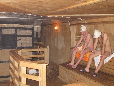 Рублёвская баня - интерьер