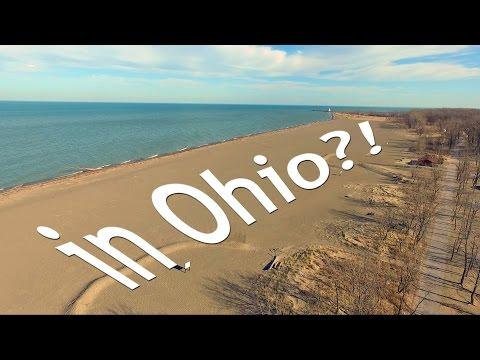 The Best Beach In Ohio.   Headlands Beach State Park