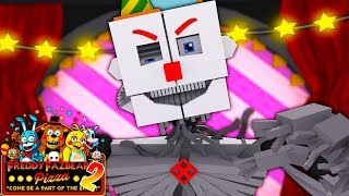 Minecraft: PIZZARIA FREDDY 2 - O ENNARD ESTÁ AQUI!! EP:20 (five night at freddy)