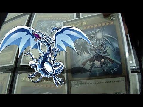 ¡INCREIBLE Colección de Blue Eyes White Dragon!