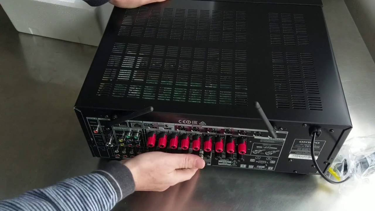 Onkyo TX-NR656 HDMI board replacement by How To Do it