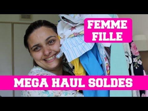 mega haul soldes ete 2018 femme et fille zara sephora h m kiabi youtube. Black Bedroom Furniture Sets. Home Design Ideas