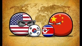COUNTRYBALLS I  Будущее Азии l 1 серия l Корейская война