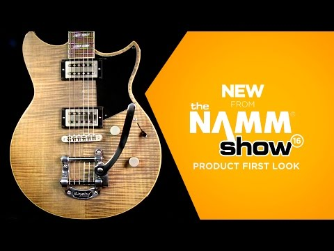 NAMM 2016 - Yamaha RevStar RS720B Electric Guitar