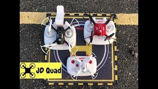 Syma X20 X21 X22 Nano Quadcopter Comparison Video - This has undoub...