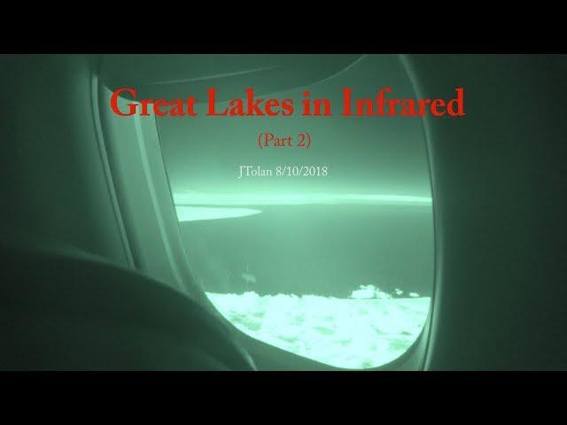 1000 mile visibility across Lake Huron to Hudson Bay