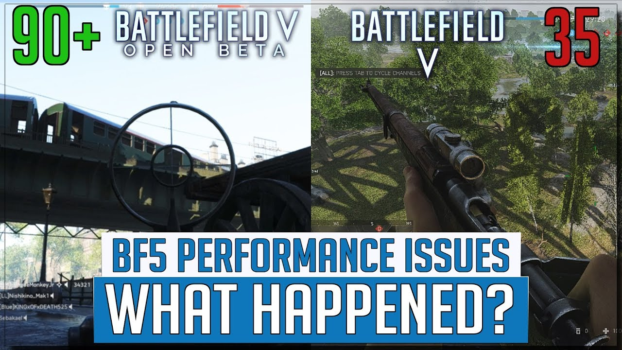 Battlefield 5 Performance Issues - What Happened? - Battlefield V FPS Drops