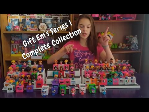 Gift Ems Series 1 Complete Collection with Canadian Exclusive BLUE Flo Snow