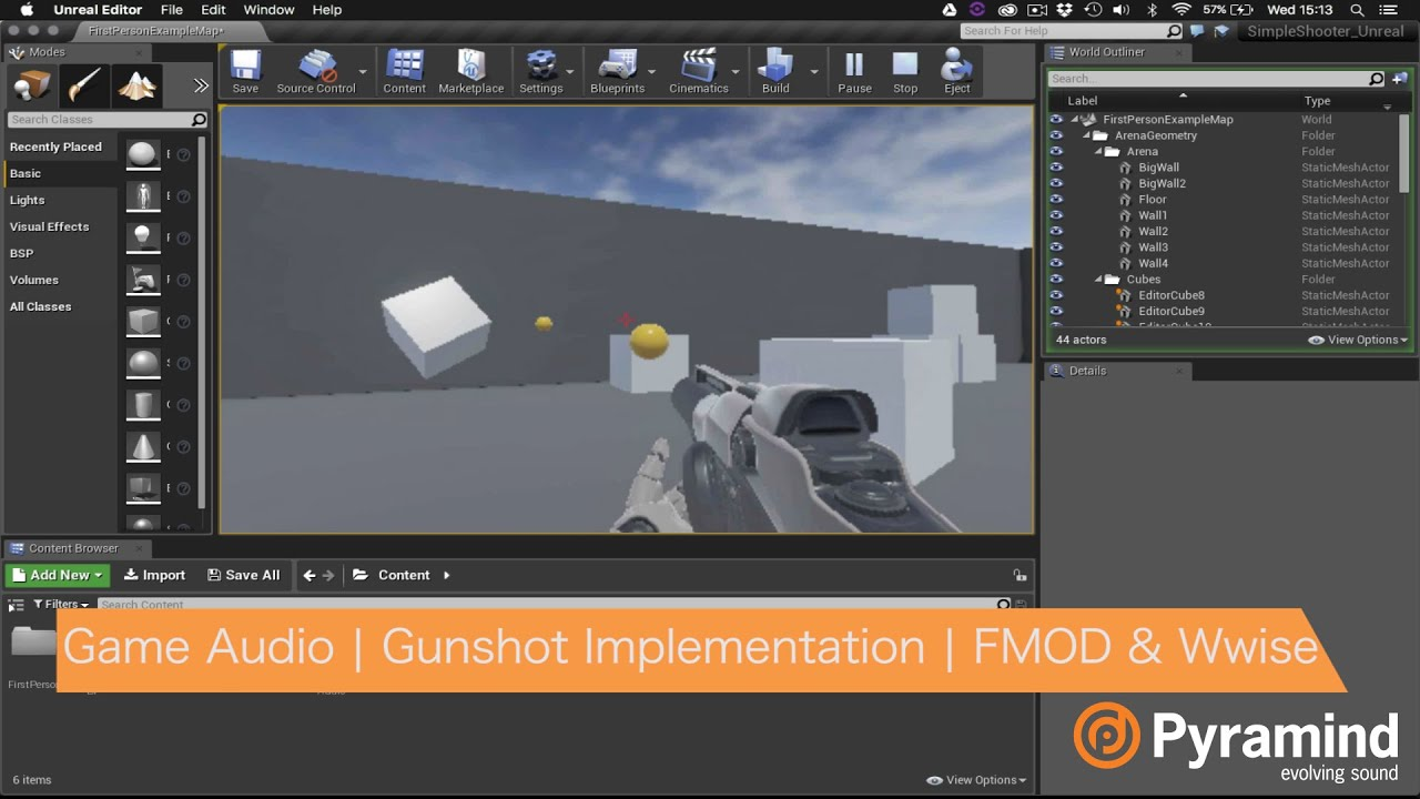 Game audio gunshot implementation fmod wwise youtube game audio gunshot implementation fmod wwise malvernweather Image collections