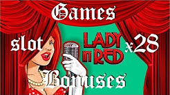 Lady In Red Slot Machine Online bonus game