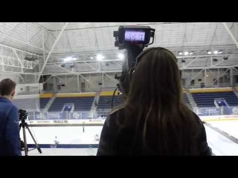 Ryerson Sport Media Production - First live broadcast out of the Mattamy Athletic Centre
