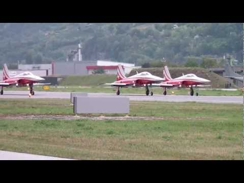 Airshow Sion 2011 - Patrouille Suisse