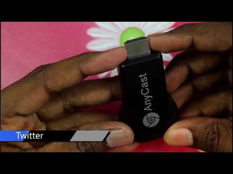 Connect Your Mobile To TV - AnyCast Miracast - Screen Mirror Android Phone To TV  M4 Plus Dongle !!!
