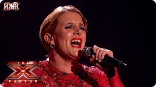 Sam Bailey sings The Power Of Love by Jennifer Rush - Live  Final Week 10 - The X Factor 2013
