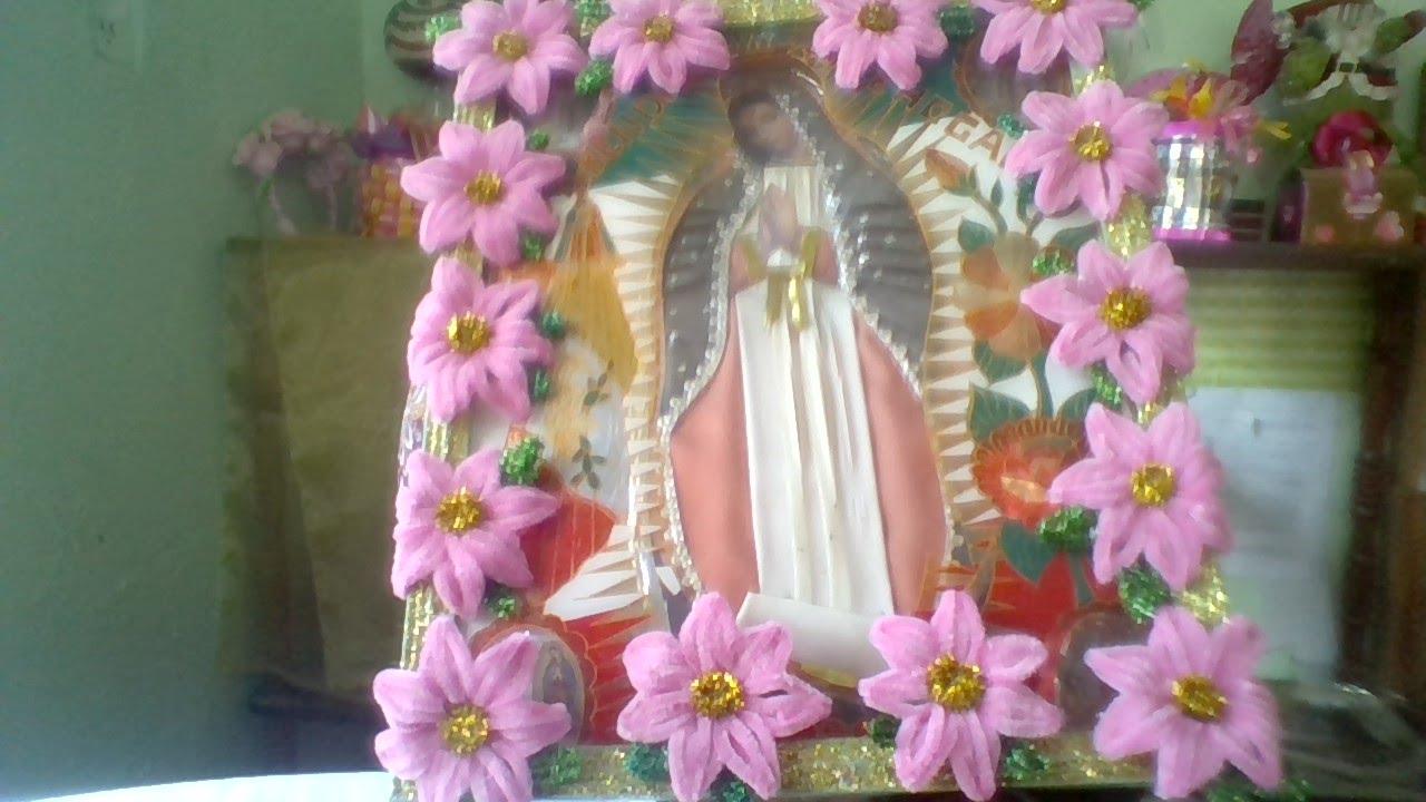 12 De Dic Dia De La Virgen De Guadalupe Idea Para Adornar Tu Virgen Mdulcecreación