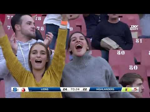 ROUND 14: Lions v Highlanders, Ellis Park Stadium, Johannesburg