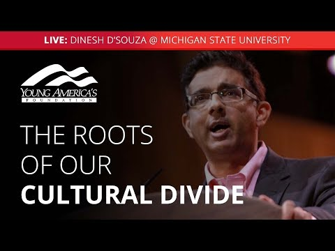 Dinesh D'Souza LIVE at Michigan State University