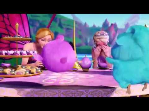 Barbie -  Mariposa & the Fairy Princess - Bloopers  English