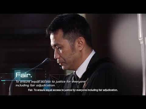 แนะนำศาลยุติธรรม ( English Version)