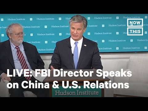 FBI Director Christopher Wray Joins Discussions about China & U.S. Relations
