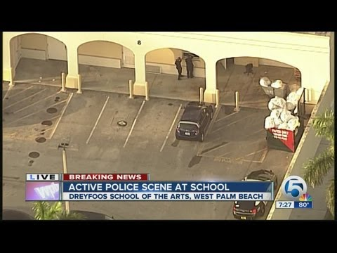 Two bodies found at Dreyfoos School of the Arts in West Palm Beach - early report
