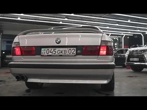 Легендарный BMW E34 Али Окапова Проект Талғата Итаева