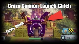 Plants vs Zombies GW2 Crazy Cannon Launch Glitch