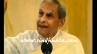 Dada J.P.Vaswani talk about sindhi language