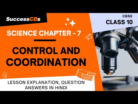 Control and Coordination Class 10 Science Chapter Notes