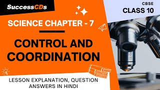 Control and Coordination Class 10 Science Chapter 7 - Explanation, Question Answers