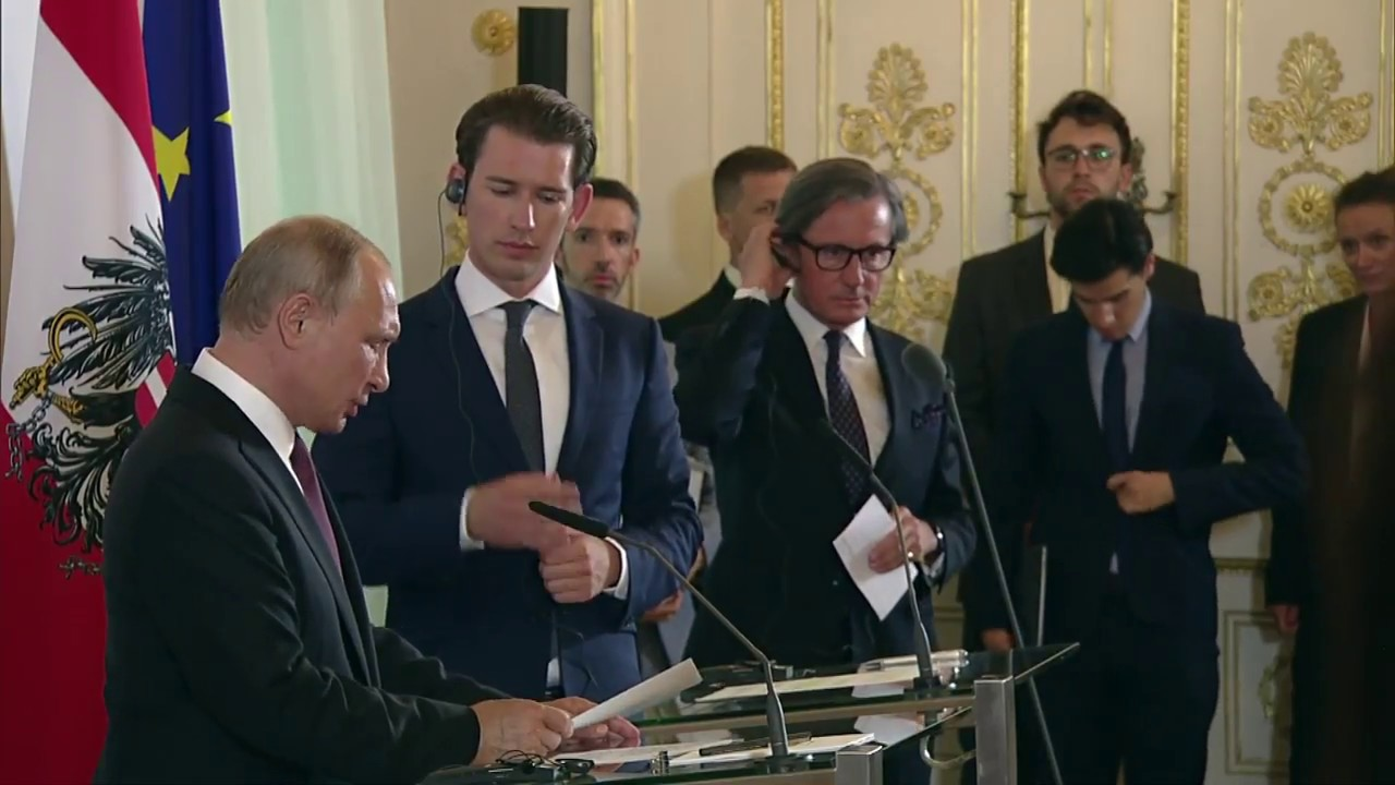 Заявления для прессы по итогам переговоров с Себастианом Курцем