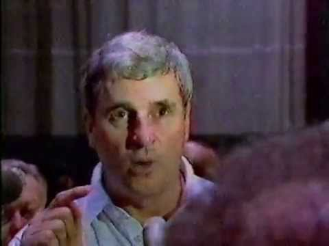 February 1987 Bob Knight Lights Into Team After Narrow