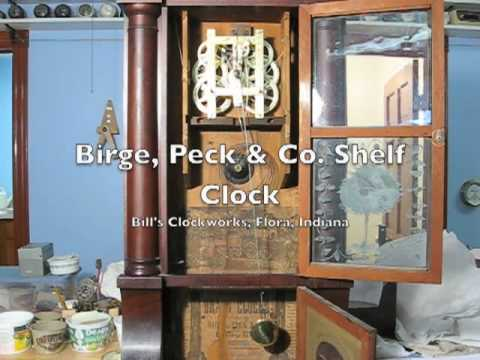 Birge, Peck & Co. Shelf Clock