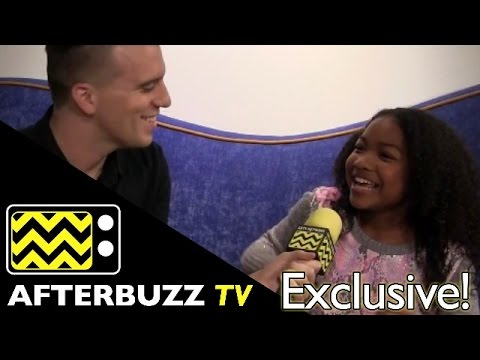 "Laya DeLeon Hayes from Nickelodeon's ""Santa Hunters"" 