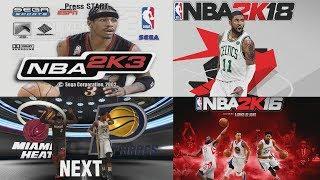NBA 2K PREGAME THROUGH THE YEARS - NBA 2K2 - NBA 2K18