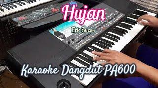 HUJAN (ERIE SUZAN) - KARAOKE DANGDUT TANPA VOKAL    LIRIK    PA600