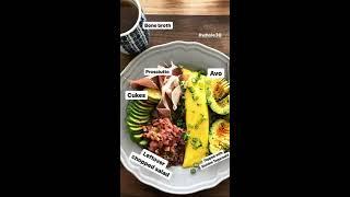 Whole30 French Omelette - Easy Breakfast Idea