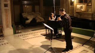 Isaac Albéniz - Serenata Espagnola - Claudio Ferrarini  & Ayako Fujiki